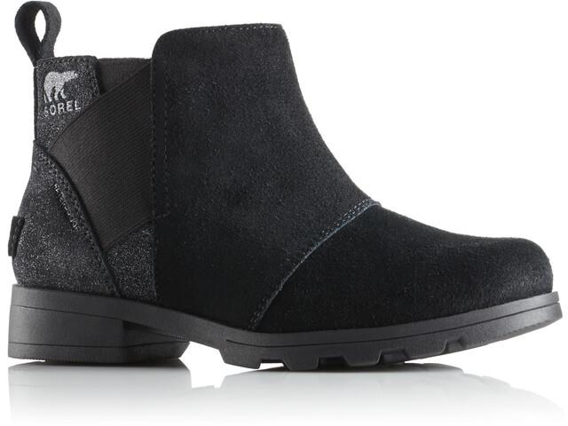 Sorel Emelie Chelsea Boots Youth Black/Black